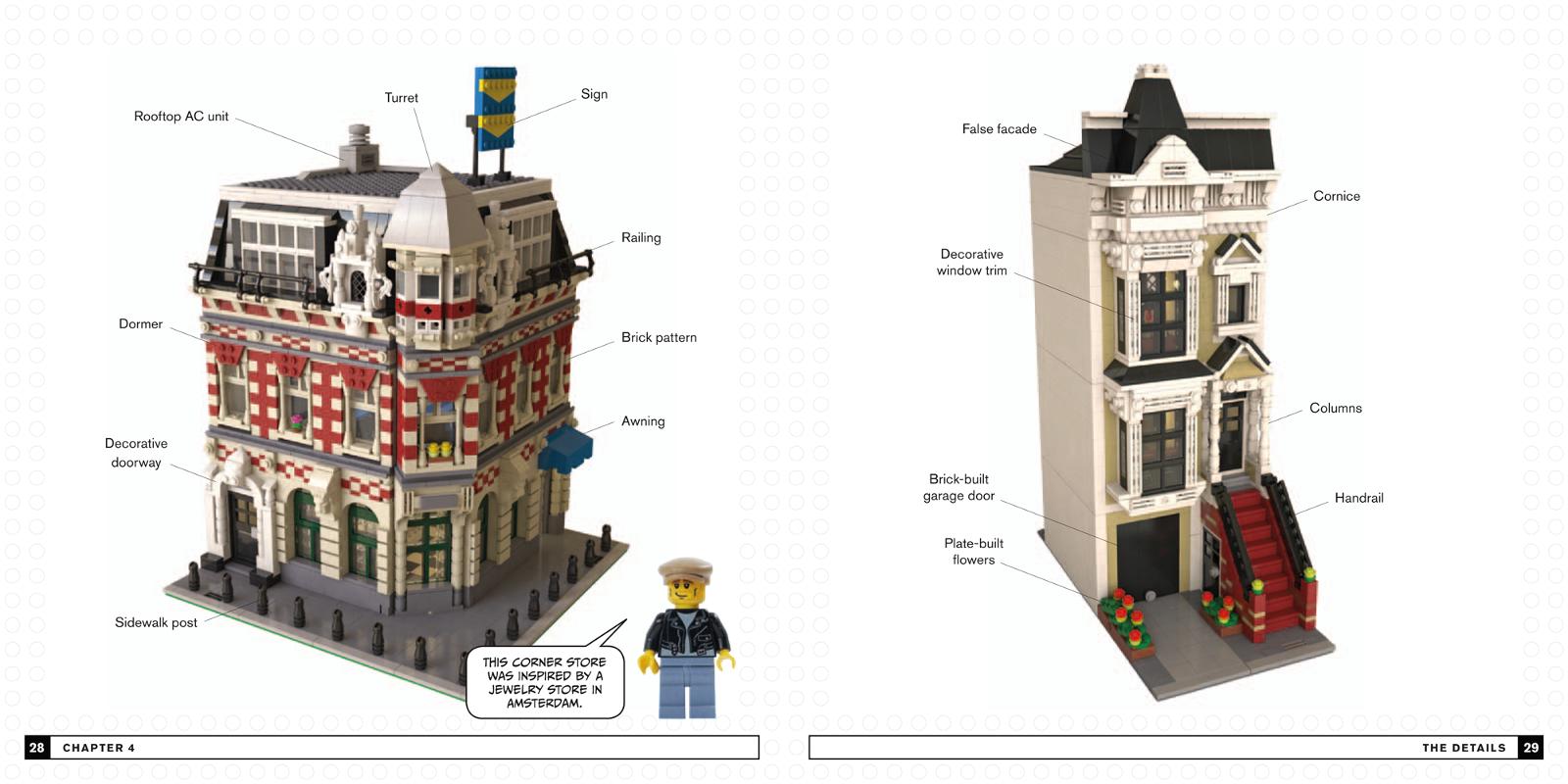 Modular LEGO examples