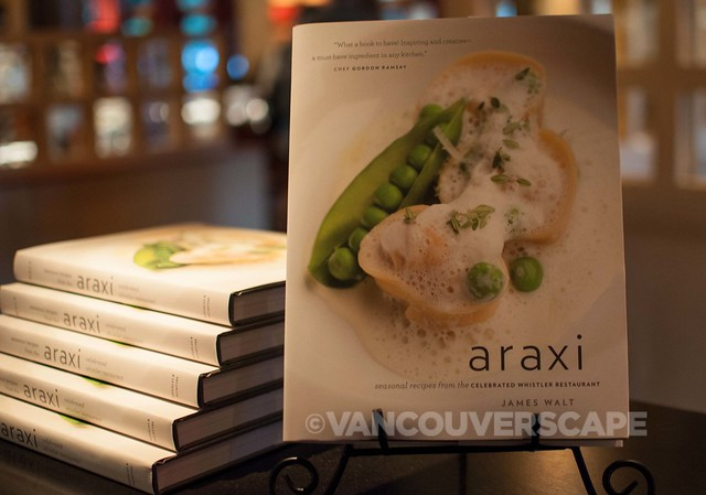 Dining at Araxi, Whistler