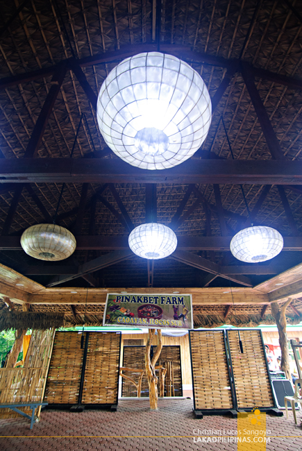 Interiors of Pinakbet Farm in Caoayan, Ilocos Sur