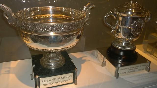 Roland Garros trophies