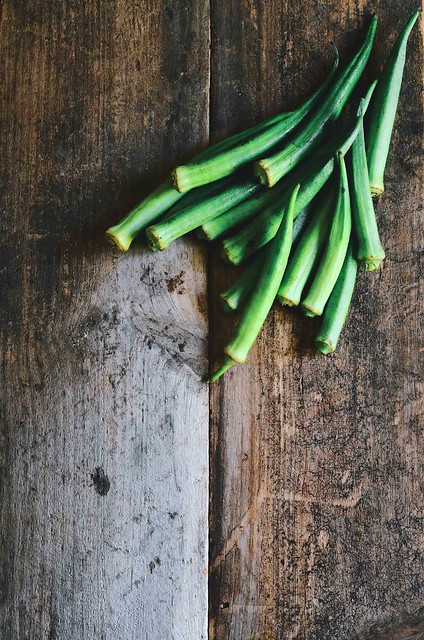 Okra with Lemons and Onions |A Brown Table