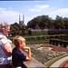 West Germany   -   Würzburg    -   The Residenz   -   Oma & Jeb   -   June 1986 by Ladycliff