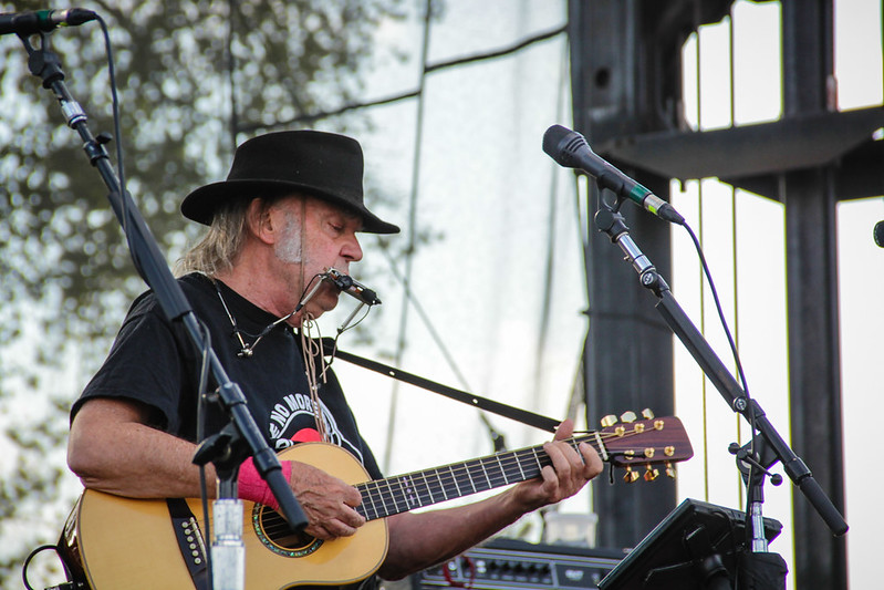 Neil Young @ Harvest the Hope