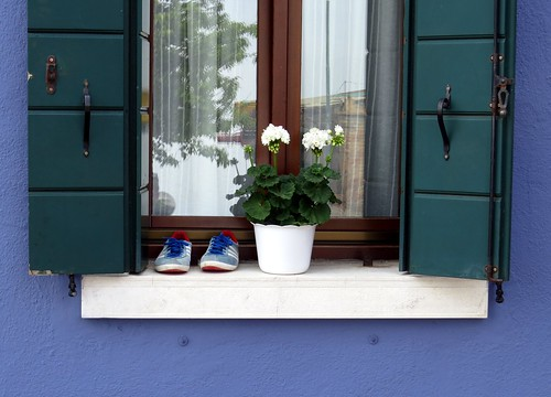 burano sneakers matched