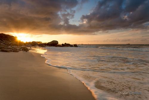 Kerlouan golden sunset
