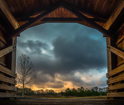 nx500 samsungnx500 rokinon12mmf2 bridge sunrise sunset