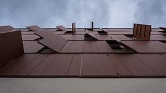 Recent building, Villeurbanne, France