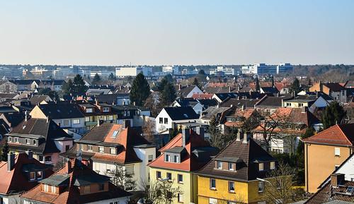 Über den Dächern von Neu-Isenburg