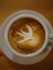 Today's latte, Swift.