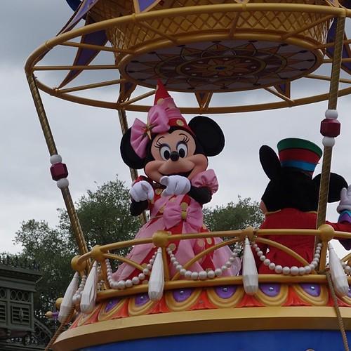 Festival of Fantasy Parade。ミニーさん。