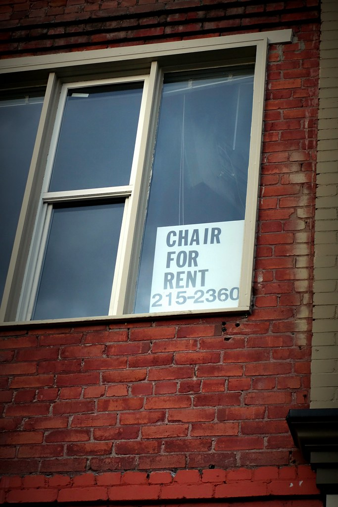 Chair for rent