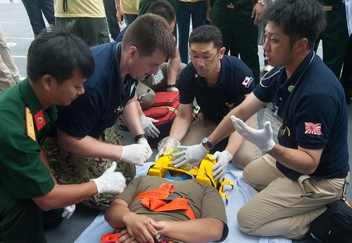 Pacific Partnership Leads Joint Medical Demonstration