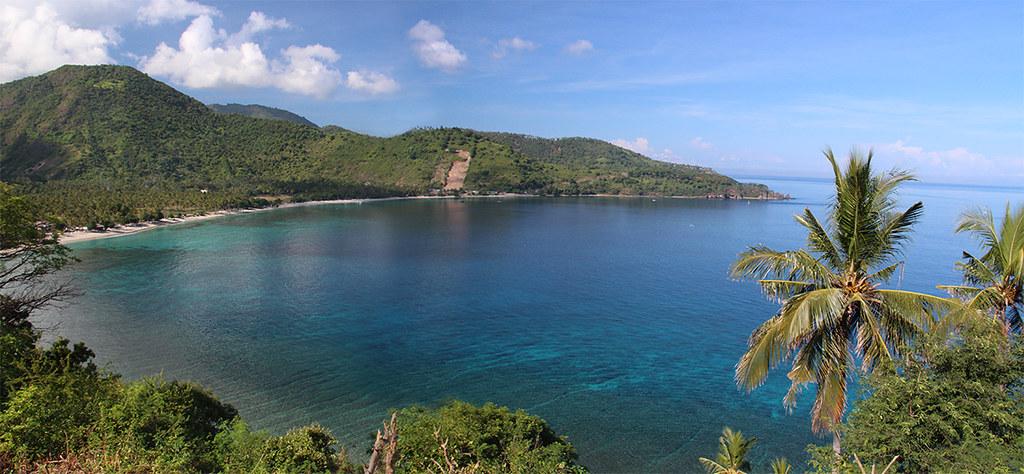 Lombok coastline