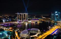 Night view of Marina Bay, Singapore