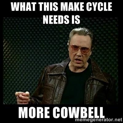 CLMOOC cowbell