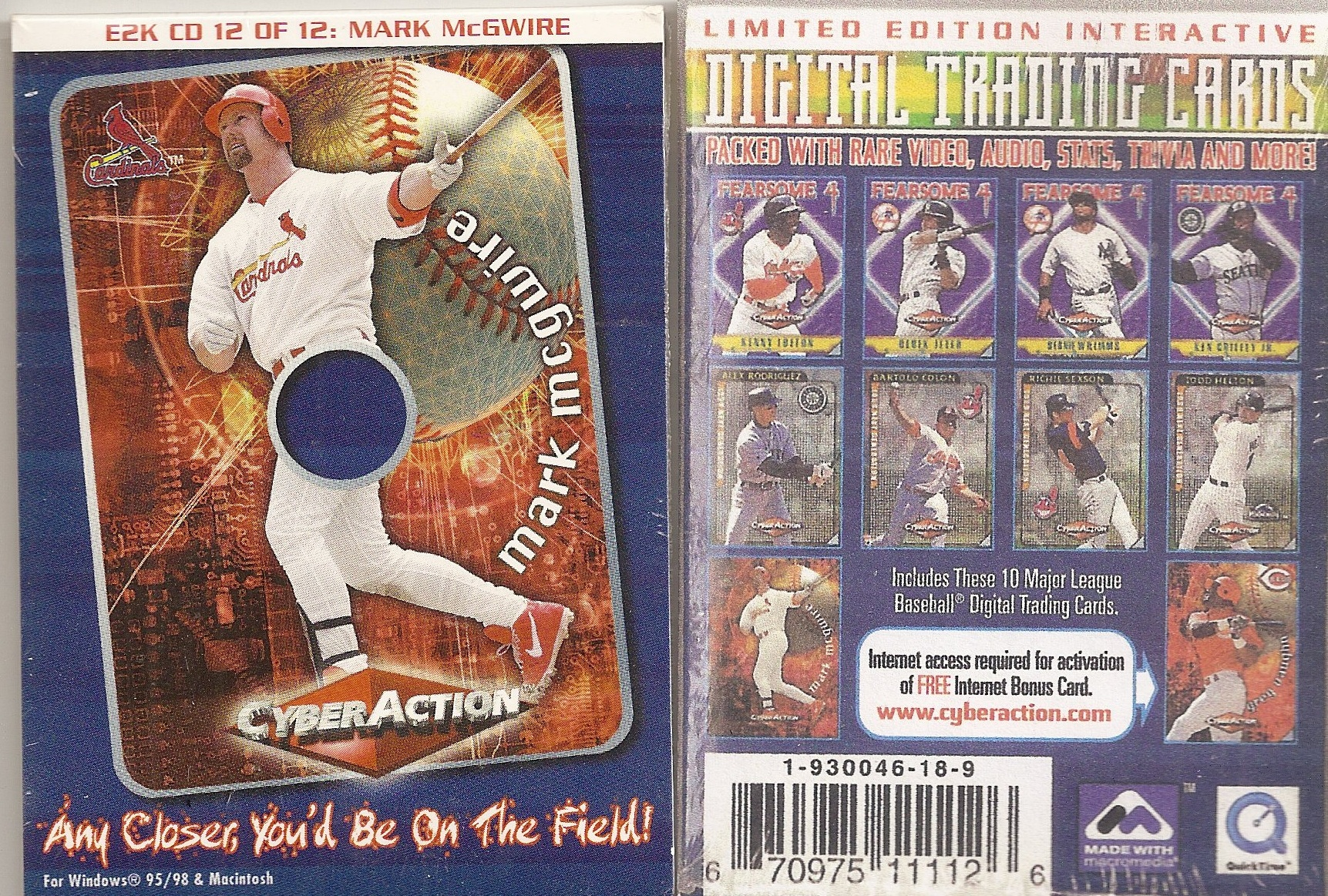 2000 Cyber Action Mini CD