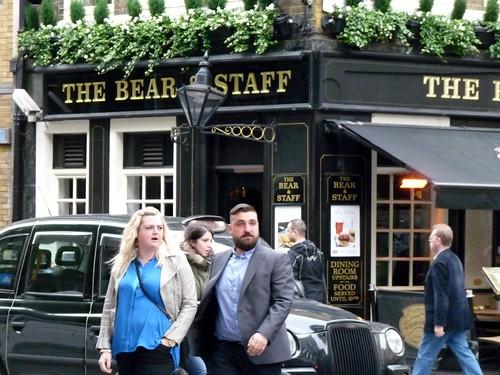 Bear + staff