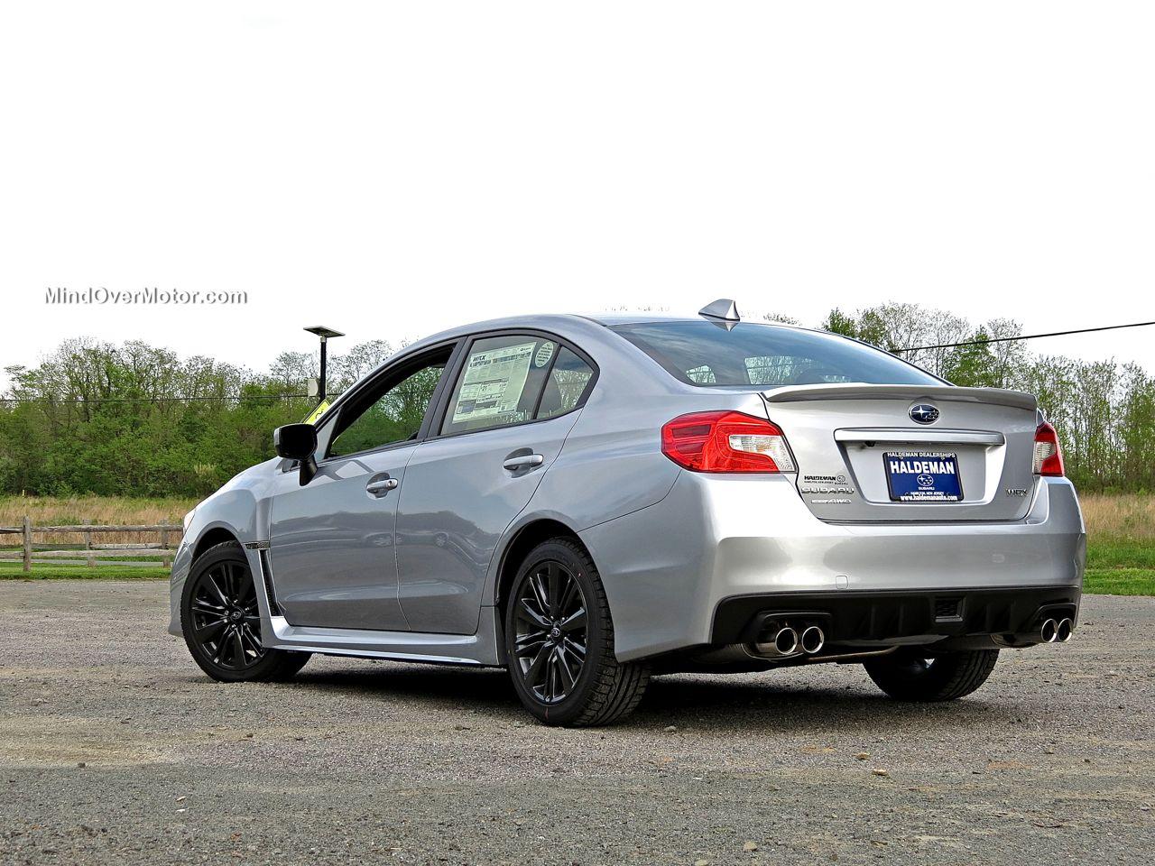2015 Subaru WRX Rear View