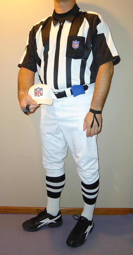 Nfl Referee Shirt Hat 2 Striped Socks Reebok Nfl Low Gr Flickr