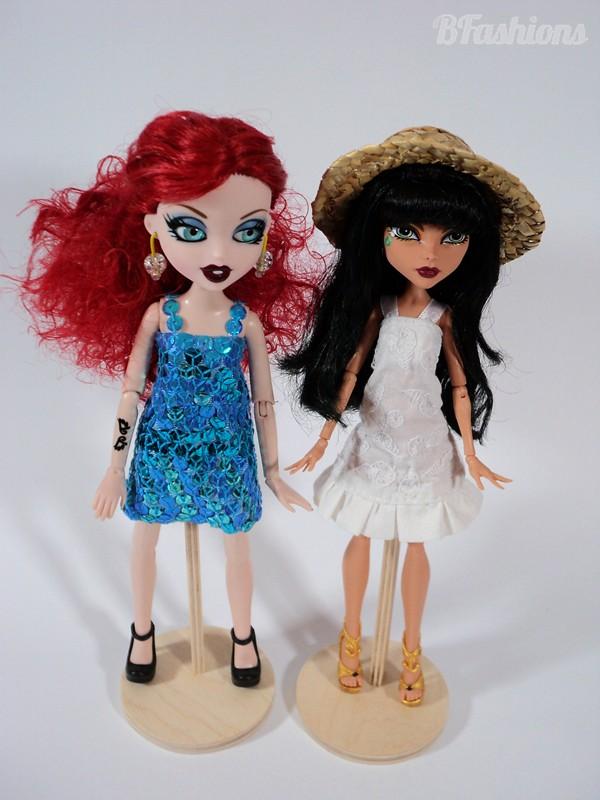letnia sukienka dla dowolnej lalki
