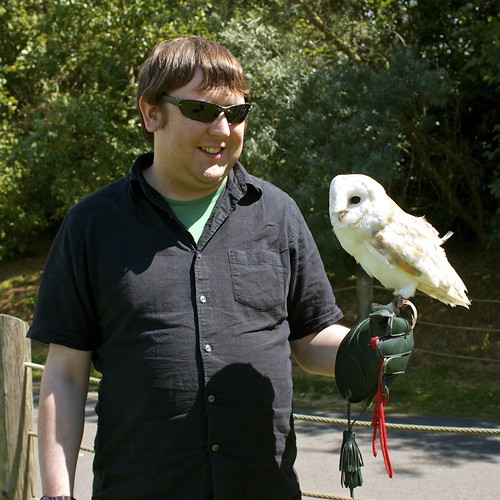 Me and a barn owl