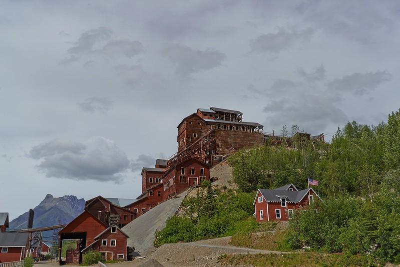 Copper Mine Building Ruins- Kennecott
