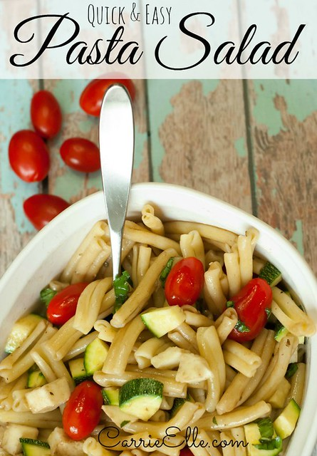 http://www.carrieelle.com/2014/05/easy-pasta-salad-recipe.html