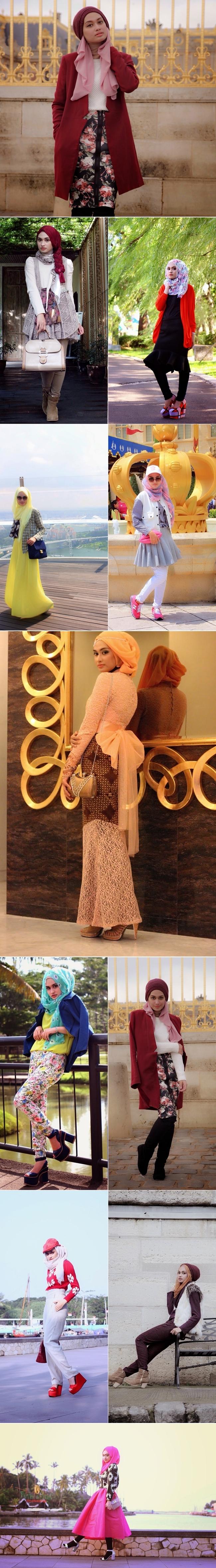 shella alaztha, headscarf, covered style, hijab style, Muslim fashion, herfashion, style crush, Indonesia