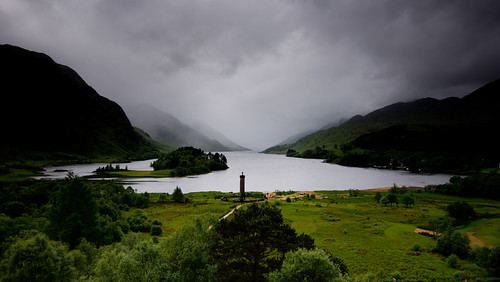 uk mist mountains clouds landscape highlands sony nationaltrust lochshiel glenfinnan sigma1020mm bonnieprincecharlie glenfinnanmonument sonydslra65