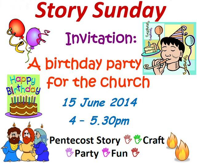 Story Sunday, 15 June 2014