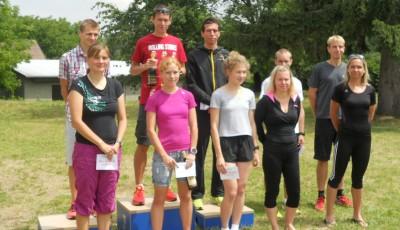 V Nemojské šestce padly traťové rekordy. Postarali se o ně Kučera a Vévodová
