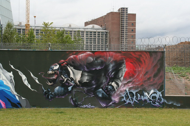Streetart an der neuen EZB (7)