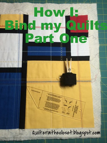 How I bind my quilts