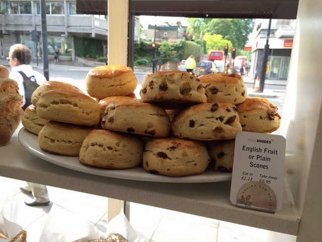 Scones at Paul Rhodes Bakery