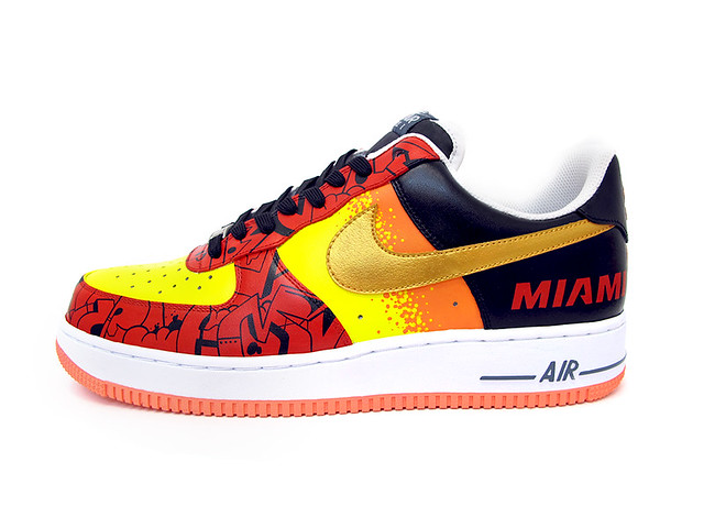 Miami Heat AF1