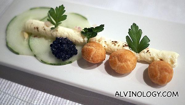 Caviar & Beginet Canapés