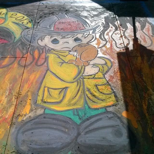 #MRDLAM  #chalkart  #LA4ART  #PasadenaChalkArtFestival
