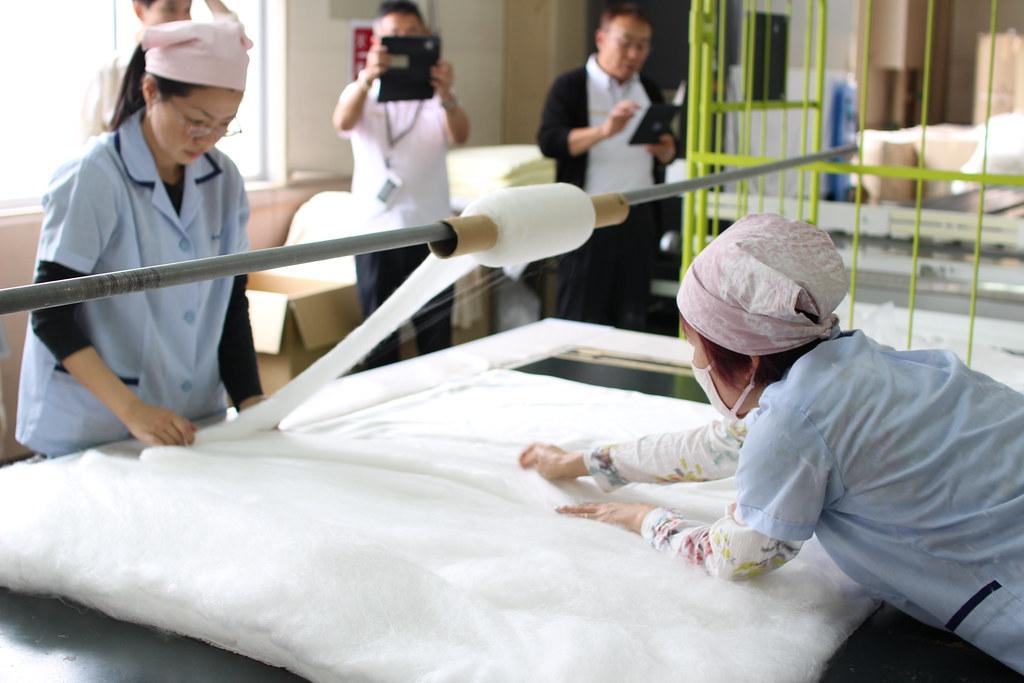 丸三綿業工場見学4