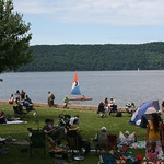 Saturday at the Clearwater Hudson River Revival. Photo by Gus Philippas
