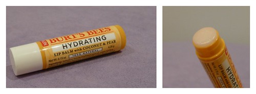 Burt's Bees NEW 100% Natural Hydrating Lip Balm Coconut & Pear Shimmers Grapefruit  Apricot australian beauty review ausbeautyreview blog blogger honest swatch pretty beautiful drugstore cosmetics healthy priceline 4