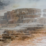 Terraces, Mammoth Hot Springs