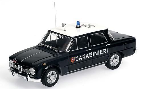 Minichamps Alfa Romeo Giulia Carabinieri 1-18