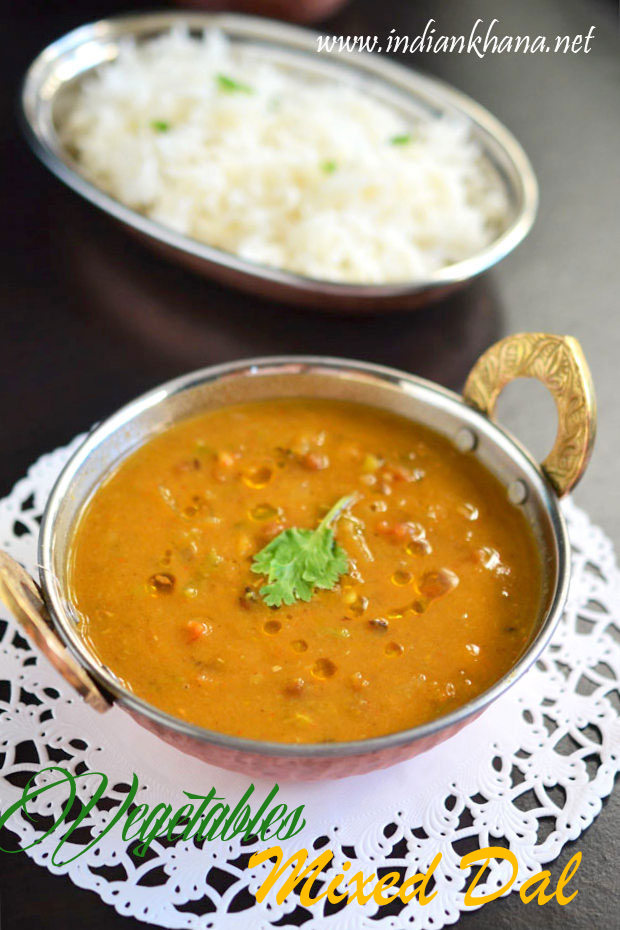 Mixed Vegetables Dal