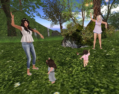 Quick Snap - Dancing with the Oleander girls