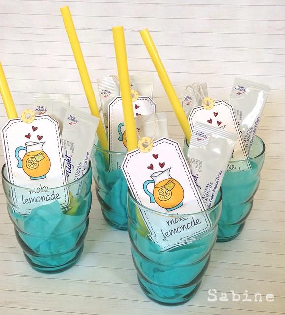 Teacher gifts- make lemonade :)