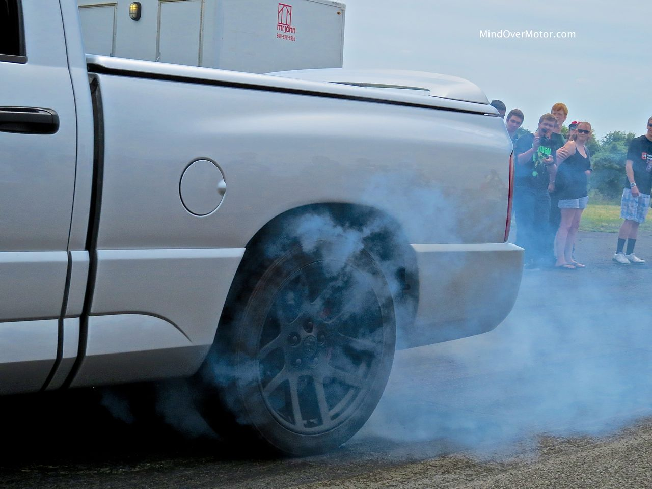 Dodge Ram SRT-10 Tire Burnout