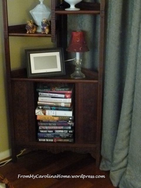 Victorian shelf books