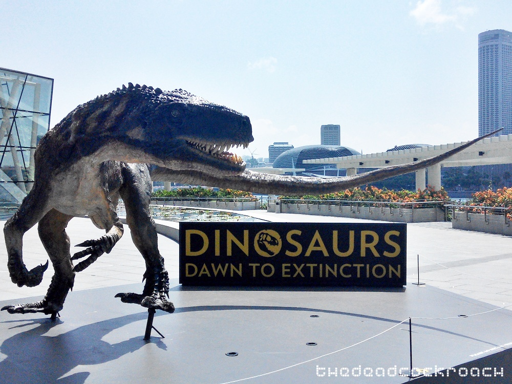 artscience museum, dawn to extinction, dinosaurs, exhibition, personal, singapore, mbs,marina bay sands