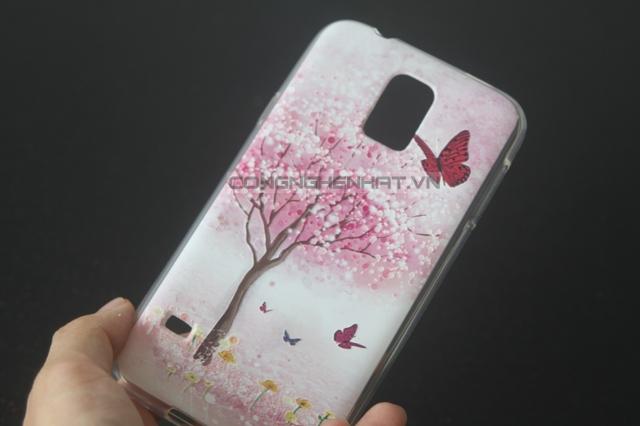 Ốp lưng Samsung Galaxy S5 TPU hình họa độc đáo
