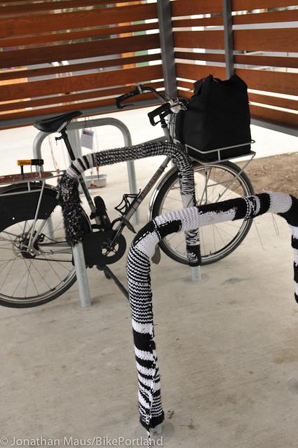 Bike parking at Green Zebra Grocery-2
